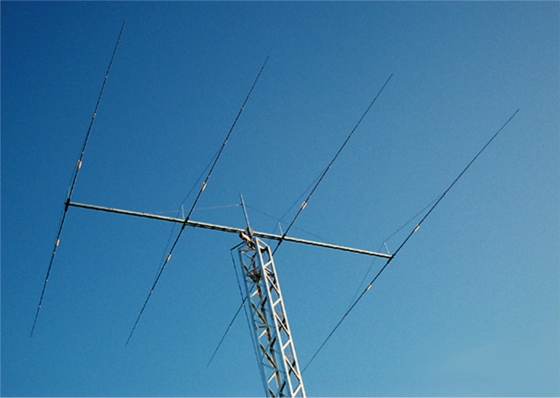 OPTIBEAM   OB4-40 4 Element 40m duo driven Monoband-Yagi